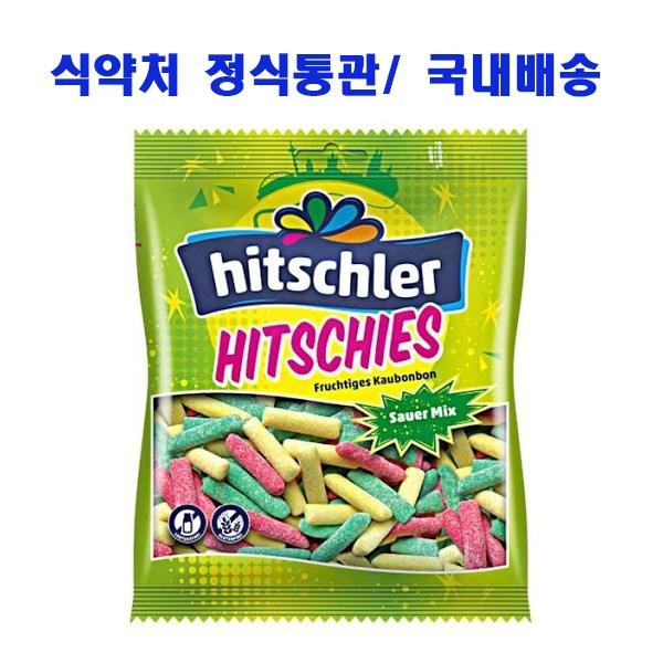 히츨러 히치스 사우어 수수깡젤리 140g, 1봉