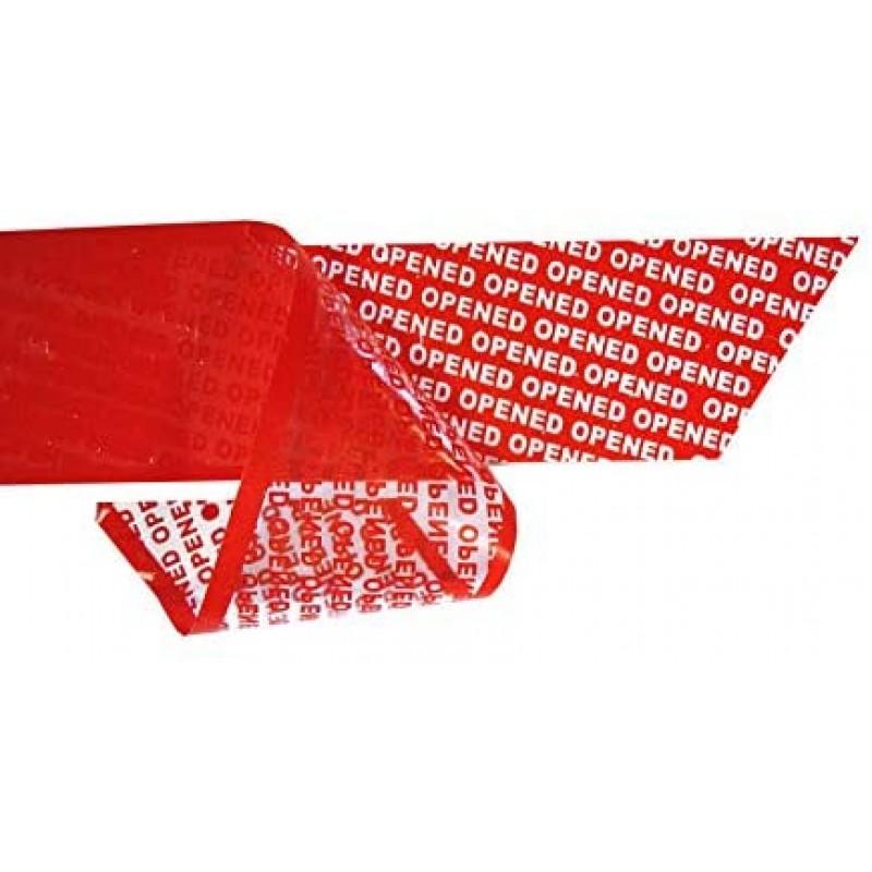 페하 밀봉 테이프 (안전 접착제 테이프) - 변조 방지 색상 : 오렌지 치수 : 38mm x 50m
