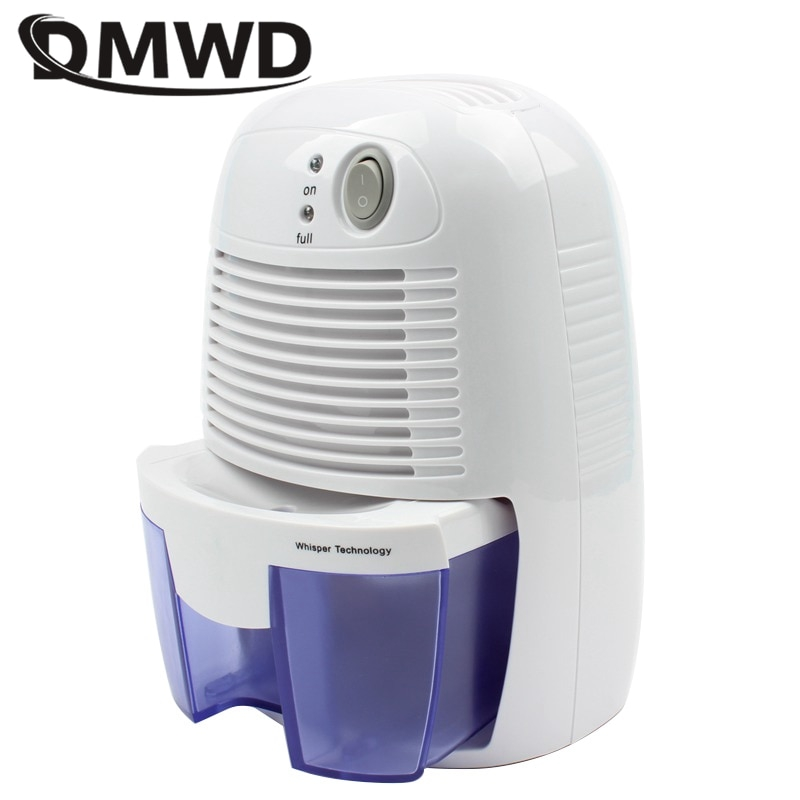DMWD 미니 제습기 가정용 수분 흡수기 조용한 지하실 제습기 옷장 건조기 수분 흡수기 100V-240V, 협력사, EU 플러그