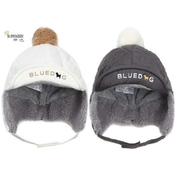 [현대백화점]블루독 베이비(ch) 퀼팅 화섬 귀마개모자 2종 택1 20FW 모자 선물 돌 유아 백일 겨울(40C14-80