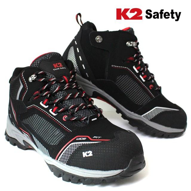 K2 K2-91 6인치 다목적 안전화 쿠션인솔적용
