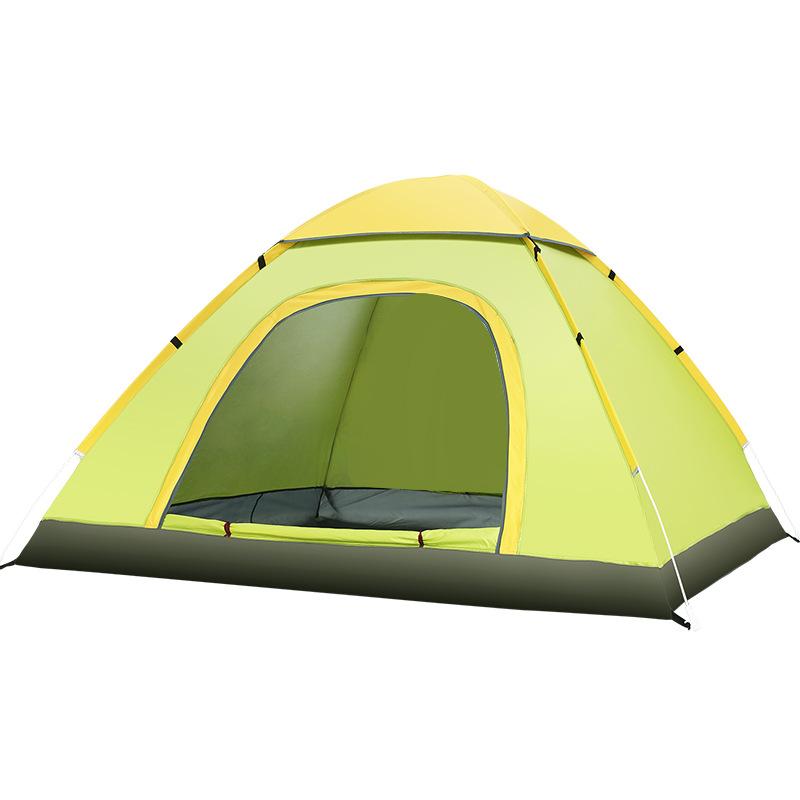 FBC A34 캠프 원터치 텐트 베이직 2인용, 그린