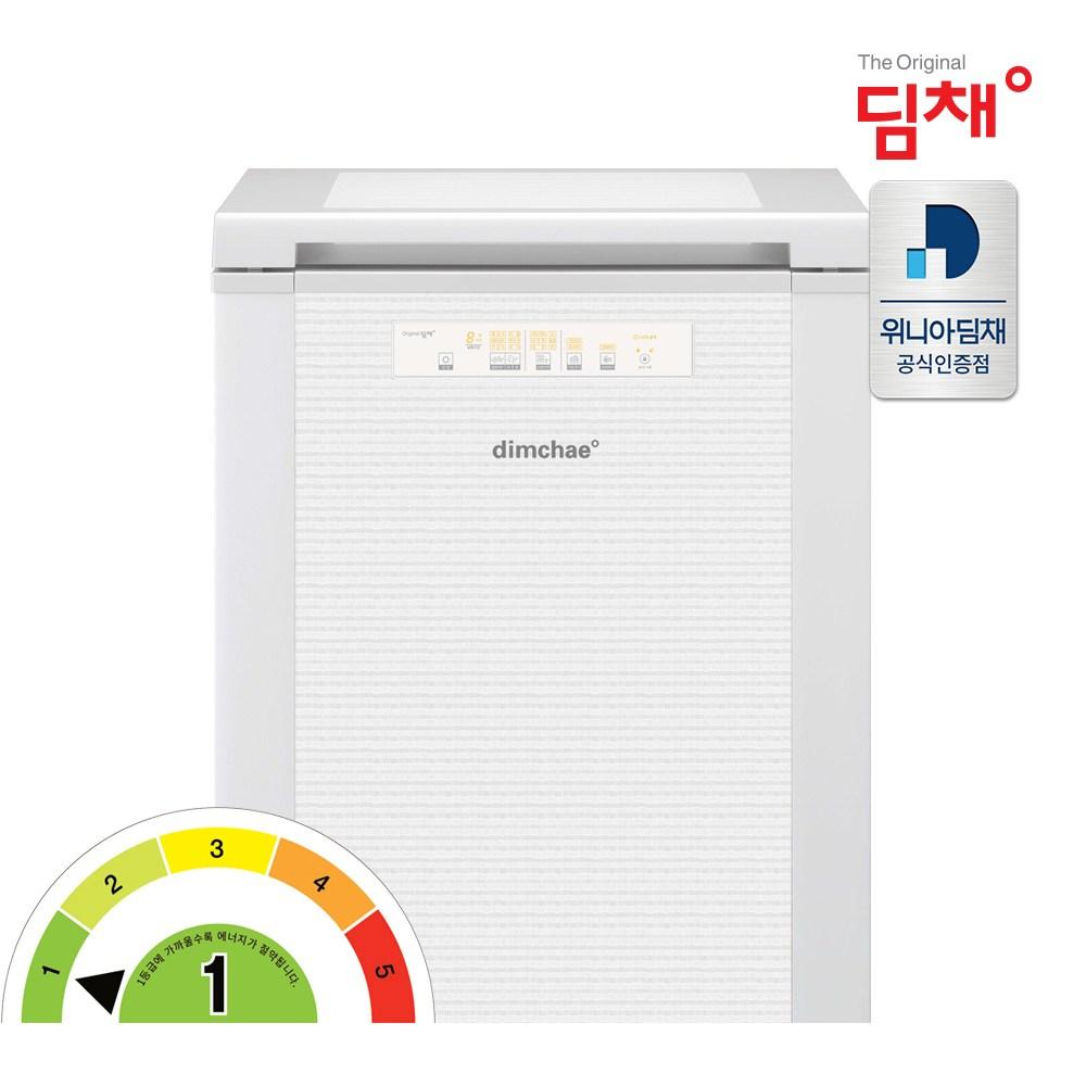 딤채 20년형 EDL12CFTYW 뚜껑형 김치냉장고 1룸 120L