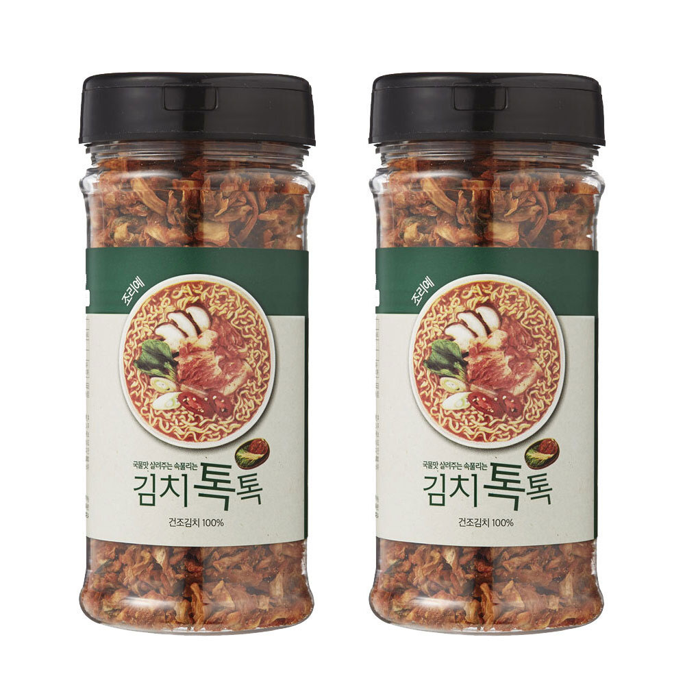 [김치톡톡] 국물맛 살려주는 속풀리는 김치톡톡, 김치톡톡2개 - 랭킹3위 (19800원)