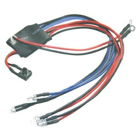 이글 모형 (Eagle Model) 이글 모형 MINI-Z 마샬 자동차 LED 라이트 세트 (블루 amp; 레드) 3026 PROD1111, 상세 설명 참조0