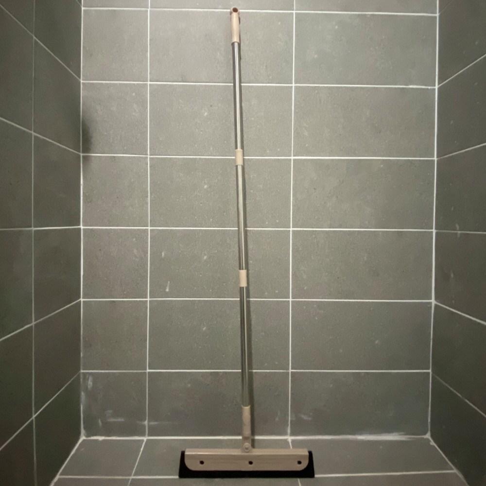 욕실 스퀴지 롱스퀴즈 화장실 욕실바닥 물기제거+밀대걸이