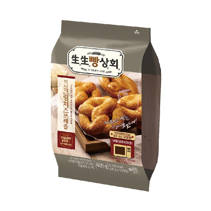 생생빵상회 크림치즈 프레즐(10개입)400gX1봉, 1봉, 400g