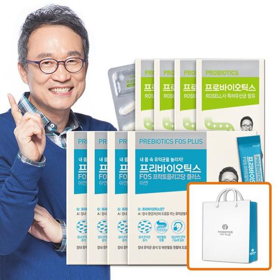 오한진 프리바이오틱스 4개월 + 프로바이오틱스 4개월, 상세설명 참조, 없음
