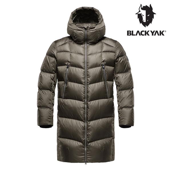 블랙야크 남성 테라 구스다운자켓 카키브라운 1BYPAW8015