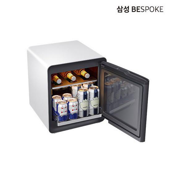 [E] 삼성 비스포크 큐브 냉장고 멀티 CRS25T95000, 코타 화이트 (POP 5172462982)