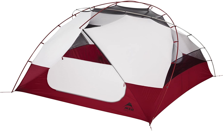 9.예상수령일 2-6일 이내 엠에스 알 (MSR) MSR Elixir 4-Person Lightweight Backpacking Tent 141 [병행], 상세 설명 참조0, One Color