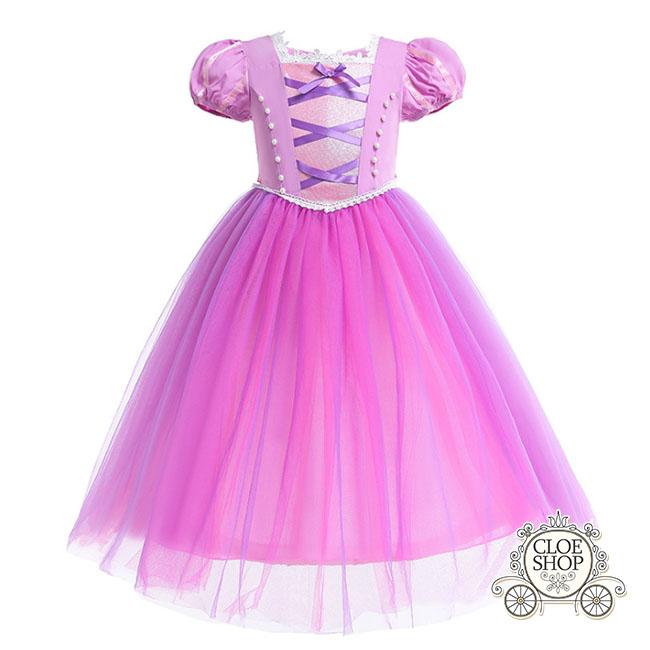 클로이샵 여아용 라푼젤 공주 드레스