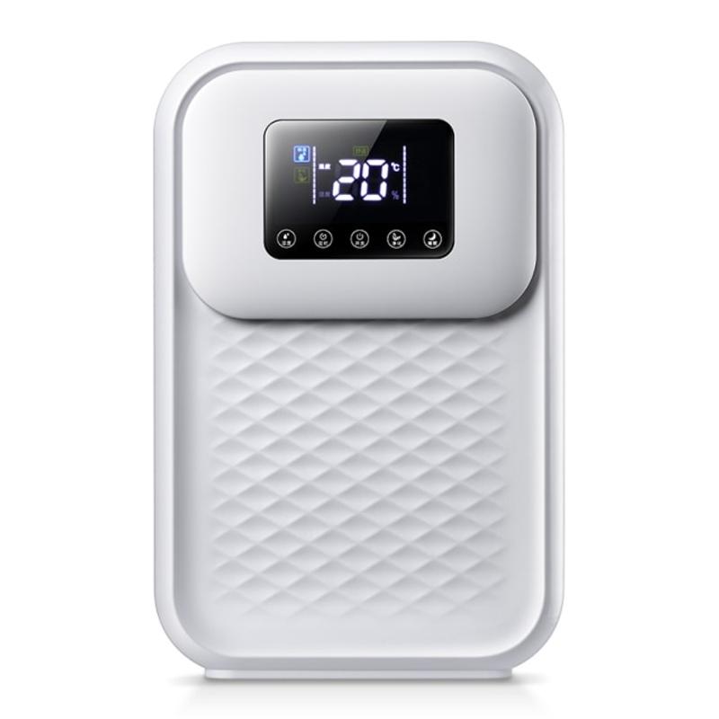 원격 제어 제습기 가정용 작은 침실 지하실 수분 흡수기 건조기, 하얀, EU 플러그 (POP 5621363056)