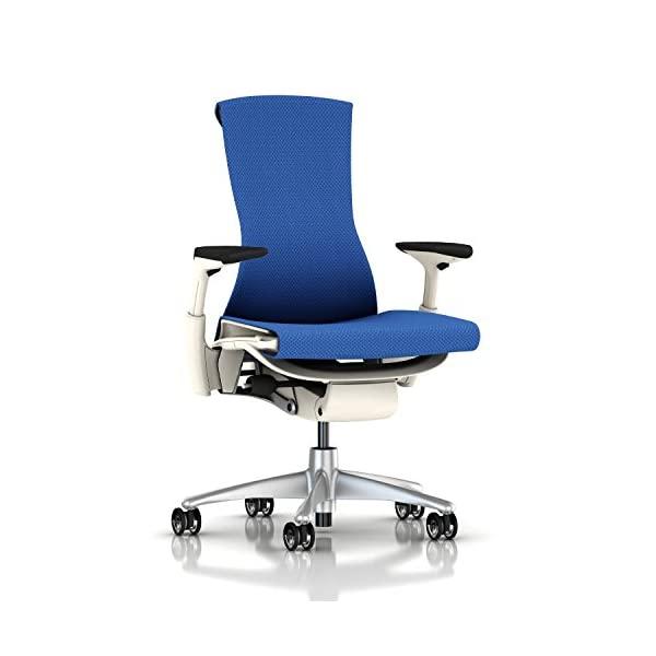 Herman Miller Embody Chair Charcoal Rhythm -, Berry Blue Balance