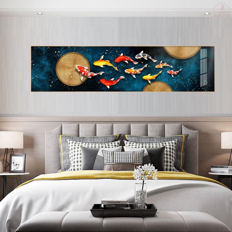 물고기 그림 대형 잉어 액자 구어도 거실 침실 40*120/50*150, 구어도1호