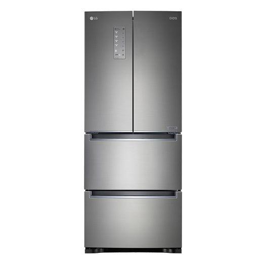 LG 디오스 4도어 스탠드형 김치냉장고 402L K414S11