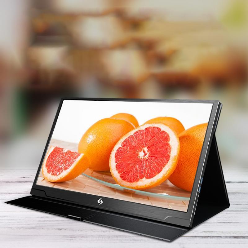 노트북듀얼모니터 27인치 초고화질 대화면 포터블 게임 무선모니터 5, 4. 화면 크기: 17.3 인치