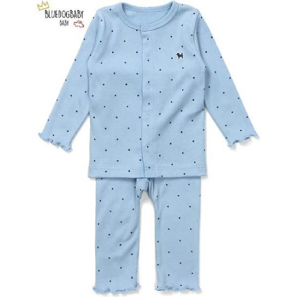 [현대백화점]블루독 베이비(ch) BL)클린별모달골지내의 20FW 백일 돌 유아 실내복 선물 출산 잠옷(40A70-05
