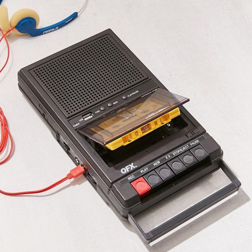 QFX 레트로 휴대용카세트플레이어, RETRO-39