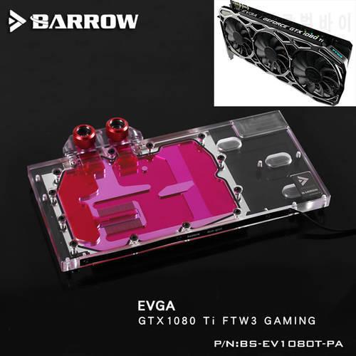 BARROW 전체 커버 그래픽 카드 블록 사용 EVGA GTX1080Ti FTW3 GAMING 워터, 상세내용참조