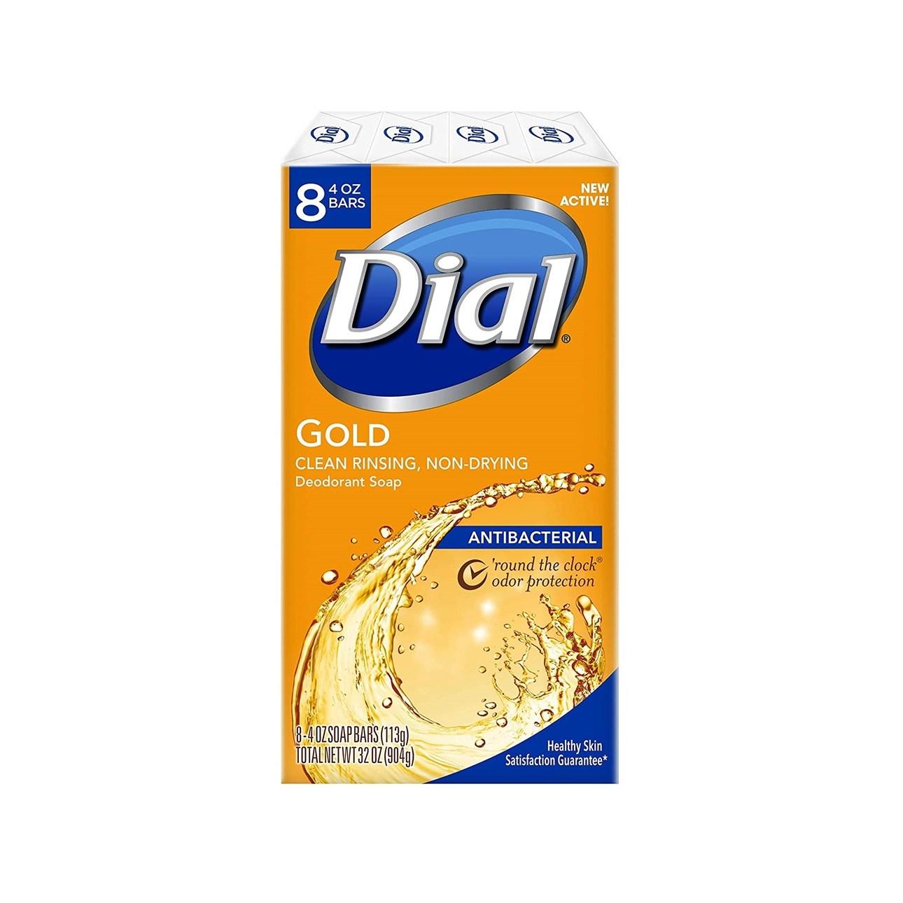 다이알 항균 비누 금색 8팩 904g