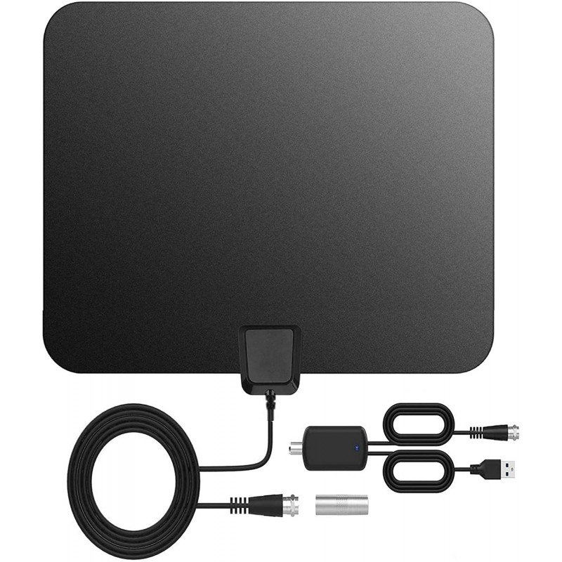 [2020 Best ONE] Amplified Digital Smart TV Antenna-Crystal Clear 4k Full HDTV Viewing Experience Upgraded Indoor Anten, 단일옵션