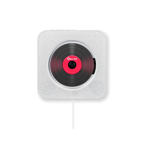 KECAG 벽걸이 CD플레이어 USB 블루투스 FM라디오, 선택(1) 1세대화이트ⓛCDH00539.01