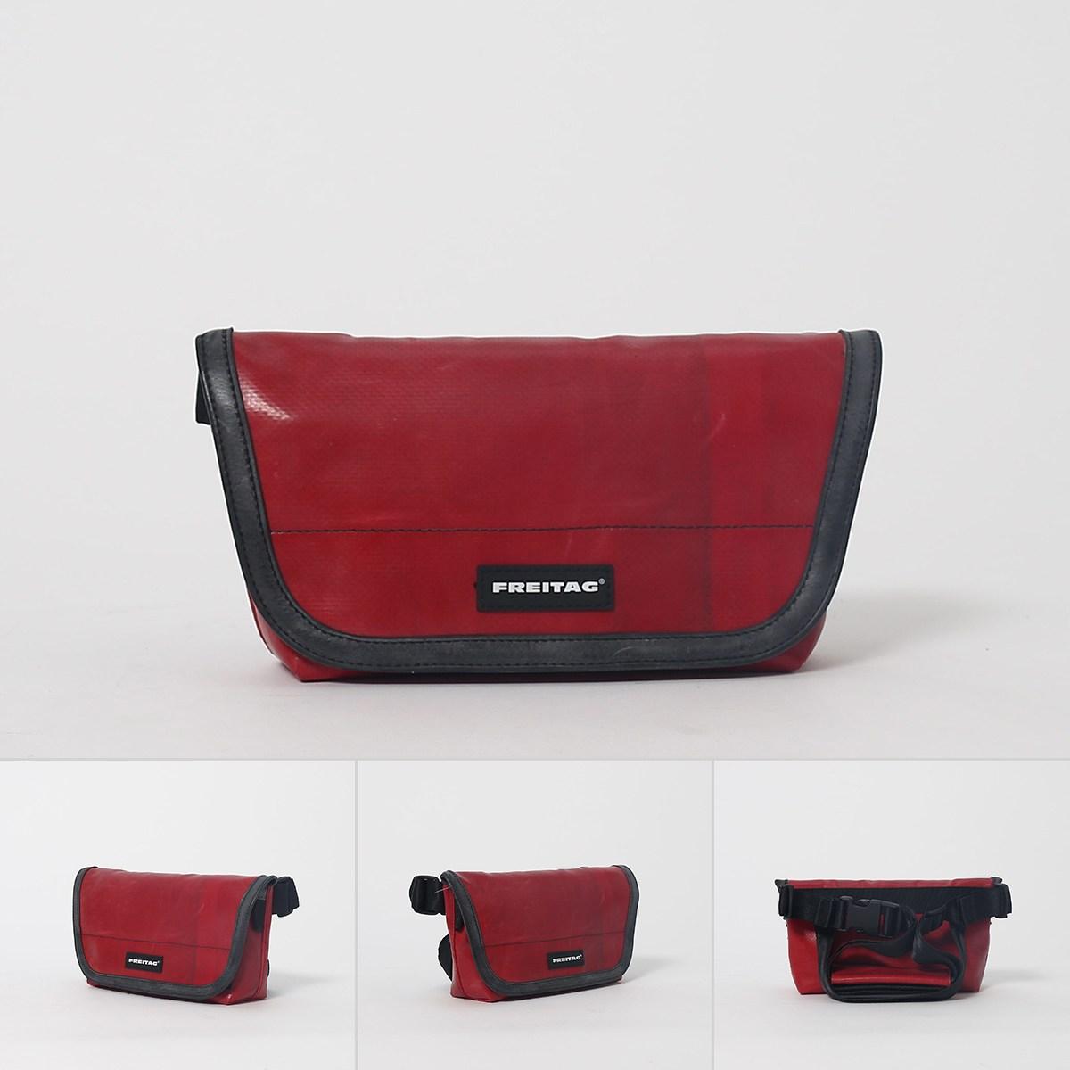 FREITAG F153 JAMIE 메신저 백 캐주얼 허리 가방 어깨 메신저 백 스위스 환경 보, 상세내용참조