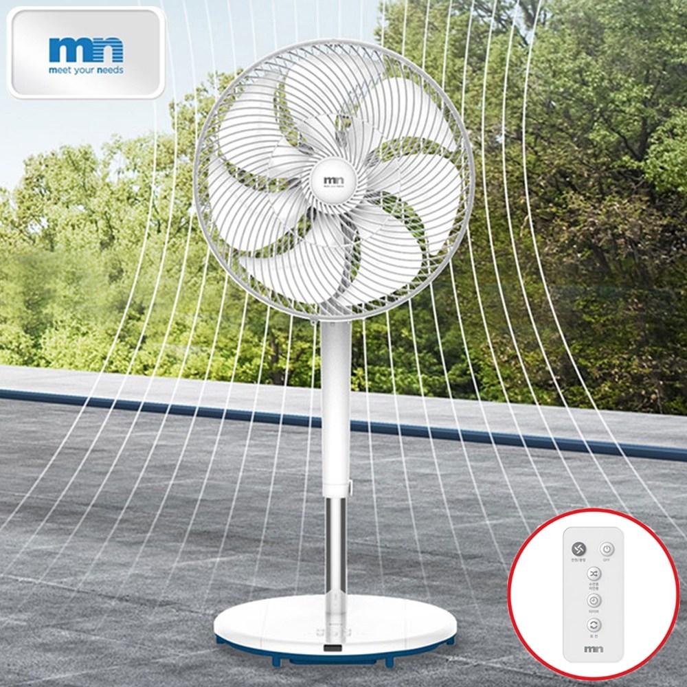 엠엔 프리미엄 초미풍 에어 서큘레이터 공기순환 선풍기 7엽 14인치 컴비네이션 팬 FAN-35RBW (POP 5607391241)