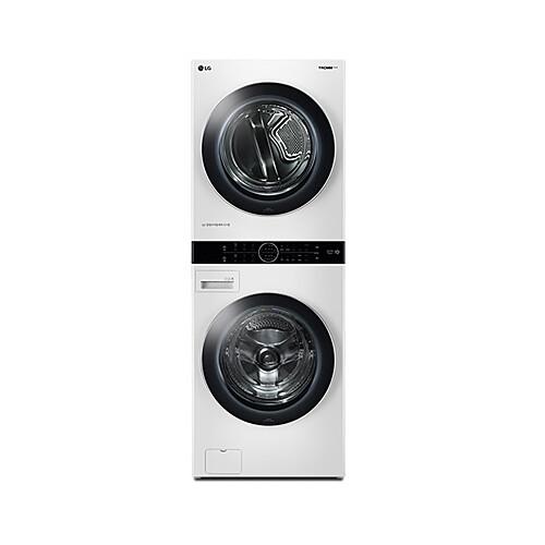 LG전자 W16WT 트롬 워시타워 원바디세탁건조기 릴리 화이트, 세탁기/세탁기