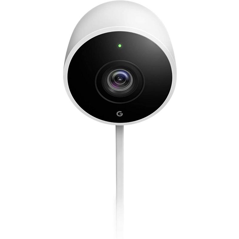 Google Nest Cam 옥외 스마트 보안 카메라 흰색