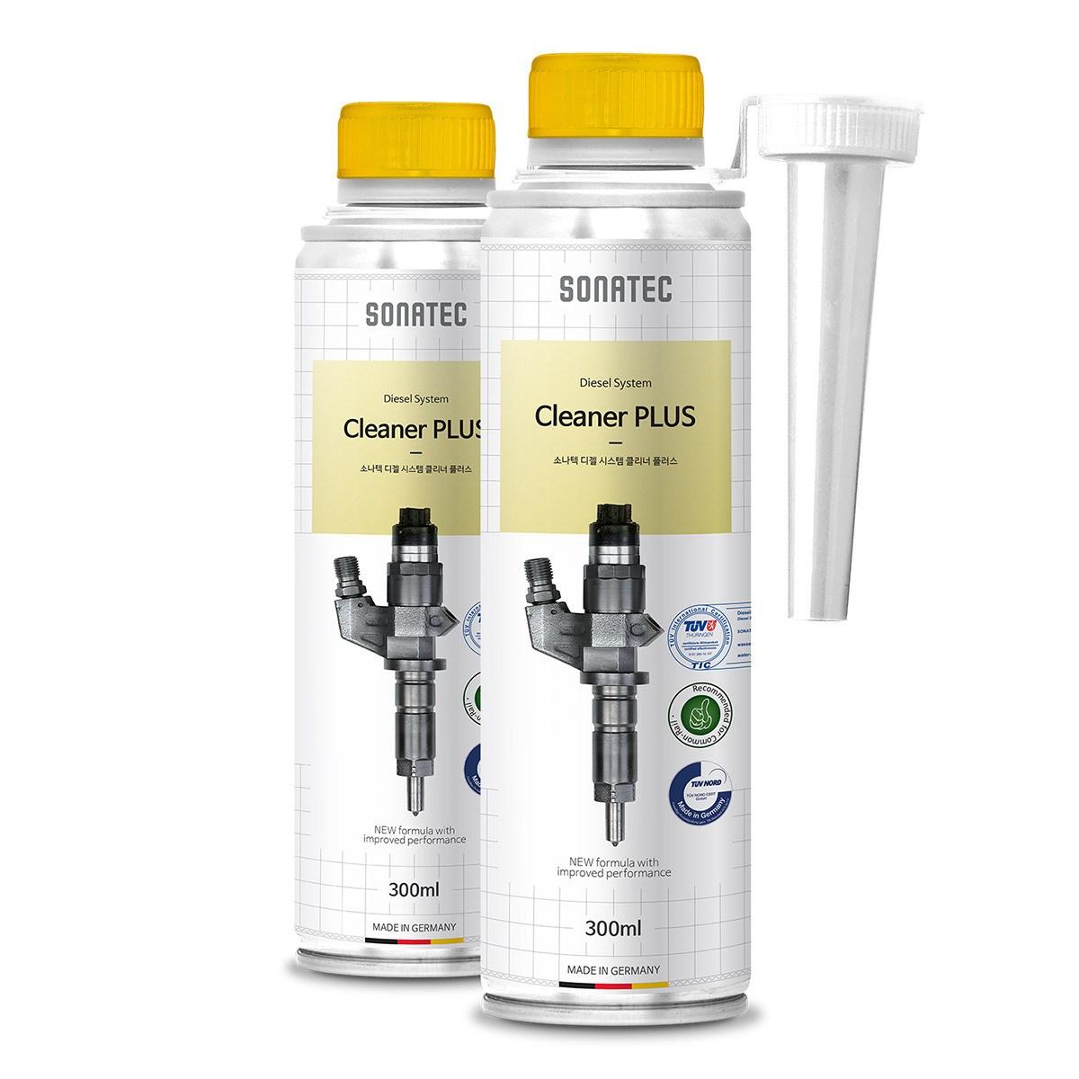 소나텍 독일산 DPF크리너 디젤연료첨가제 연료첨가제, 2개, 디젤시스템크리너