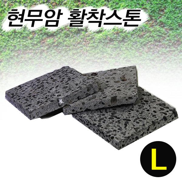 아쿠아마켓 현무암 활착 스톤 L (8 x 8 1cm) 1개 장식품
