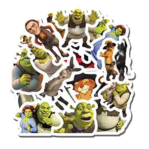 20 PCS Stickers Pack Shrek Aesthetic Vinyl Colorful Waterpro/14450973, 상세내용참조