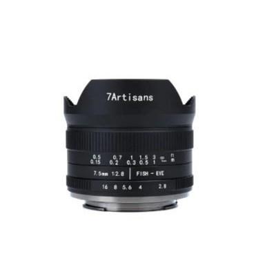 7장인 7artisans아답션 7.5mm f2.8 II 2세대 어안렌즈 광각 렌즈 피쉬아이 소니 E마운트 수동 고정렌즈 E 마운트 EOS-M 마운트 후지 fisheye lens