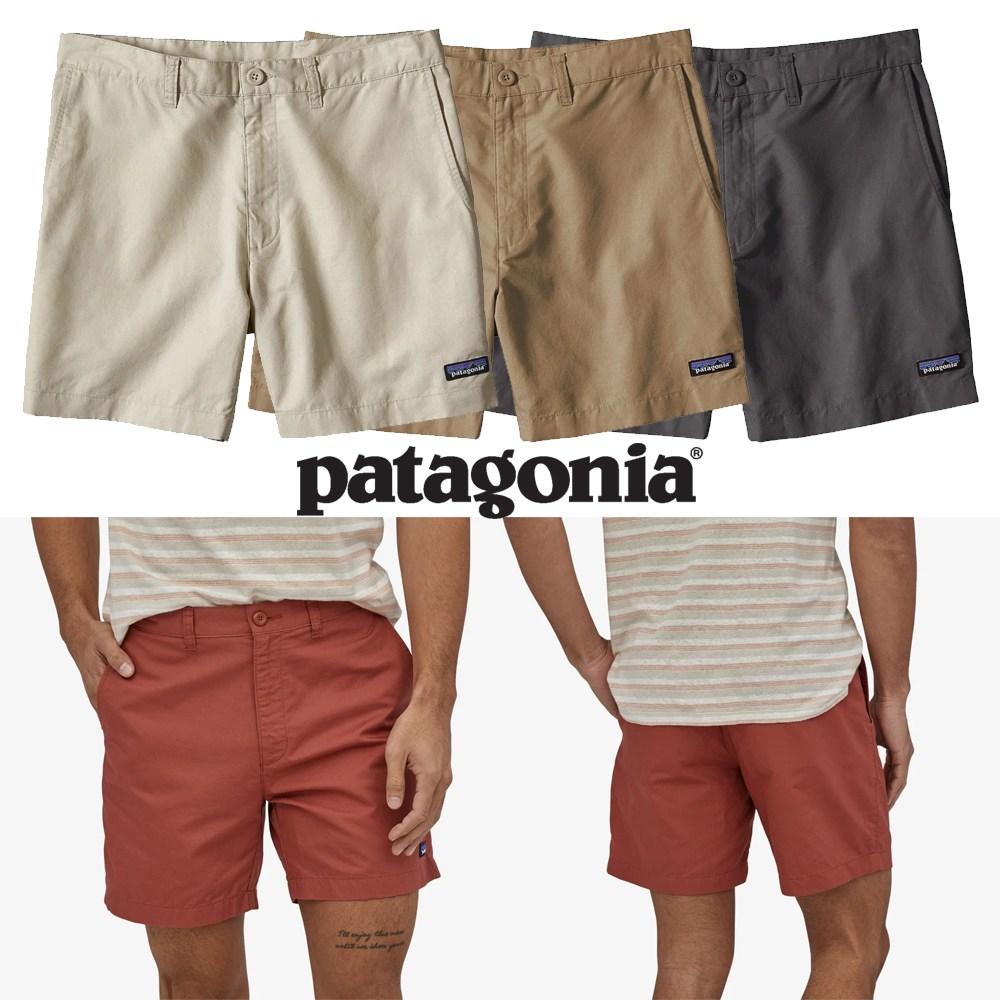 [미국] 파타고니아 반바지 6인치 라이트웨이트 헴프쇼츠 Patagonia LW All-Wear Hemp Short 6in