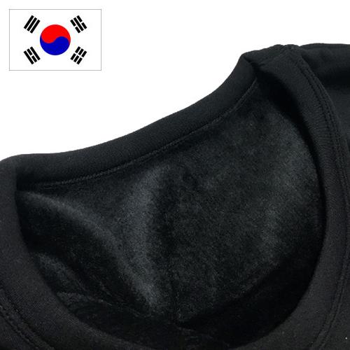 군인용품 검정 발열 기모 내의세트 - 군인내복