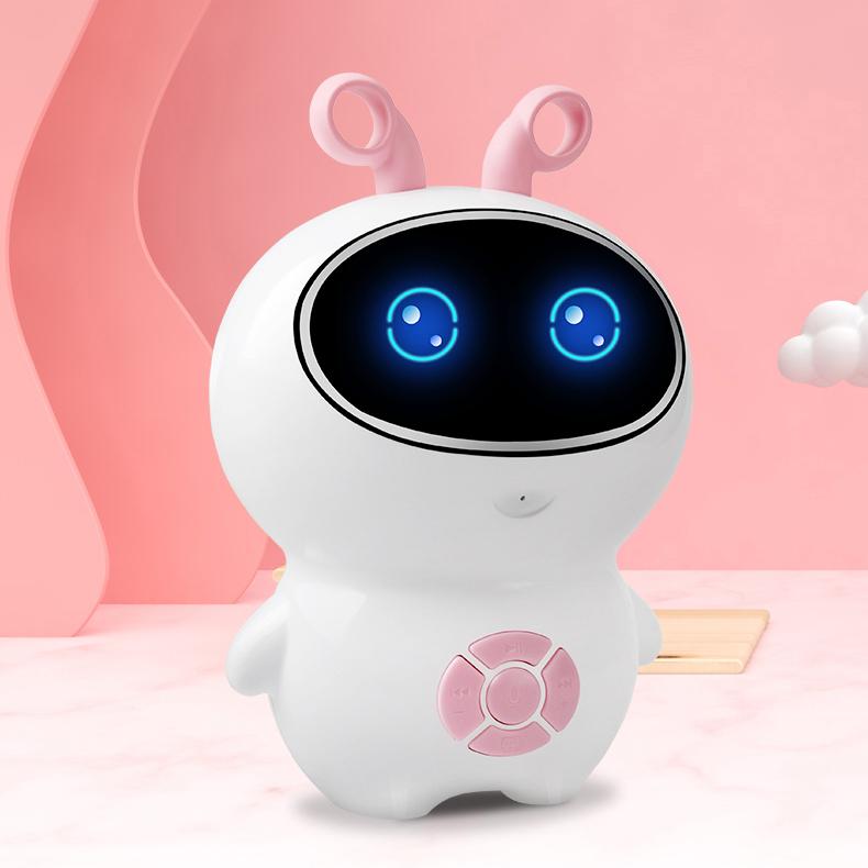 AI 어린이 인공 지능 로봇 스마트 조기교육 코딩로봇, 핑크