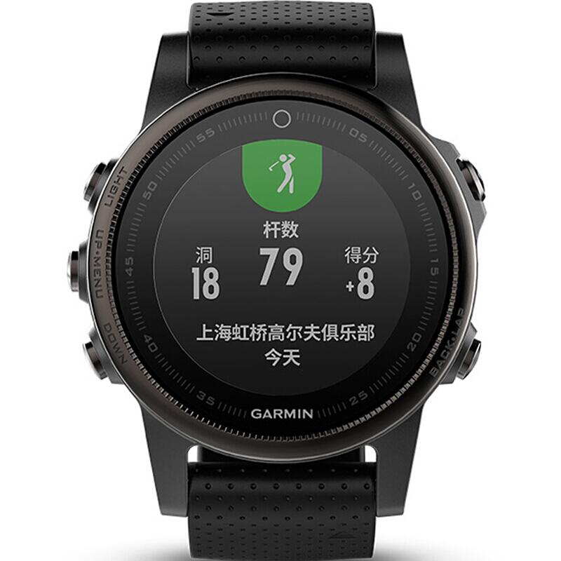 가 명 (GARMIN) 페 니 x5S 비 내 시 5S 중국어 사파이어 거울 면 GPS 다기 능 등산 달리기 스마트 워 치 워 치 수영 옥외 손목 시계 광학 심 박동 수