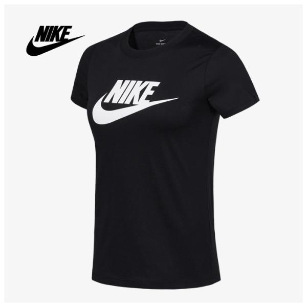 나이키 여성용 에센셜 아이콘 퓨처 반팔 티셔츠 BV6170-010