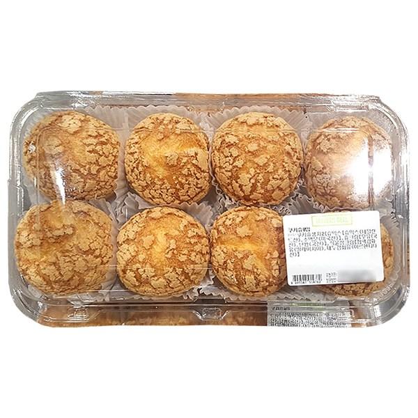 트레이더스 쿠키슈 8개 + 아이스포장 슈크림 빵 베이커리 간식, 1개