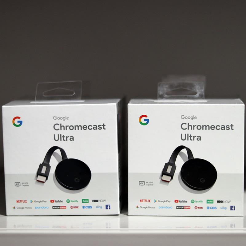 구글 크롬캐스트 3세대 울트라 Google Chromecast Ultra 4K Chromecast 3 세대, chromecast ultra 4K (패키지없이 새로운 9 개)