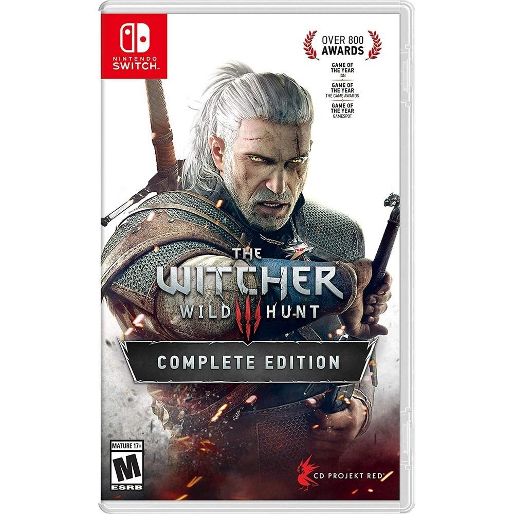 닌텐도 스위치 위쳐 3 와일드 헌트 Witcher Wild Hunt, 단일 상품