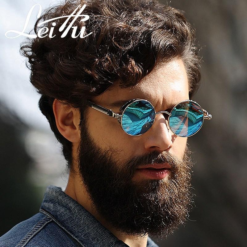펑크 남자 트렌드 개성 편광 여성 커플 안경 자외선차단 스트리트 비치