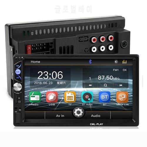 미러 링크 안드로이드 8.0 자동차 라디오 2DIN 오디오 스테레오 블루투스 U, 상세내용참조