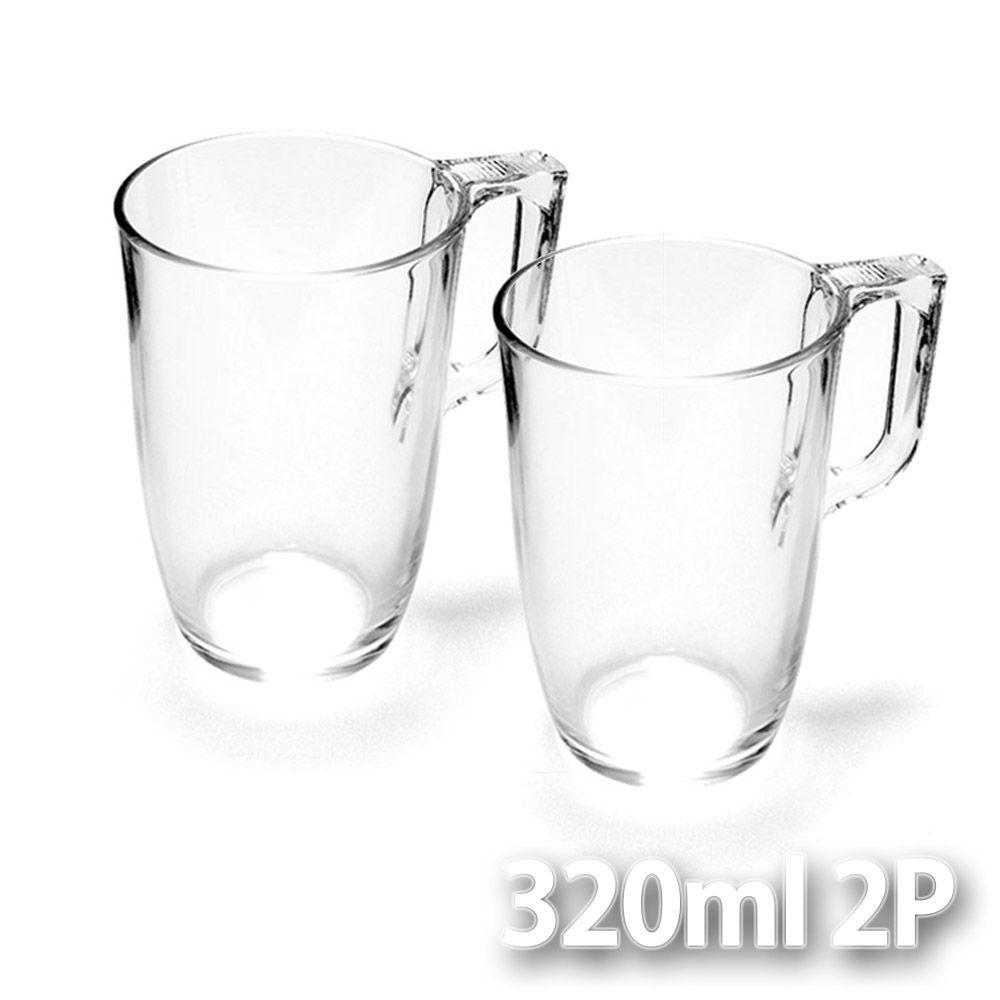 프랑스 루미낙 내열강화유리 티머그 320ml 2P세트 주방용품 컵 머그컵 S/N: + KM5FDC74 + M9, 다팔자 본상품선택