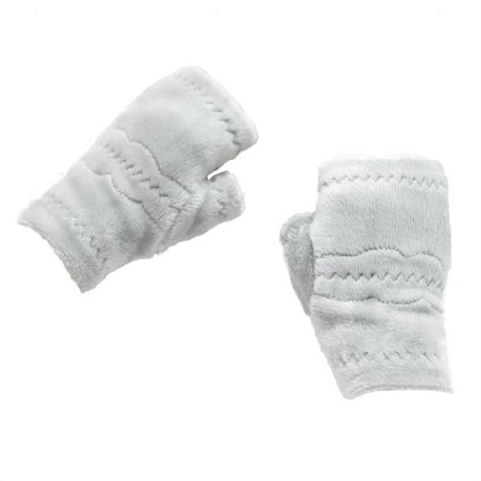 여성장갑 사무실 보온 겨울 털 남성 손보호 컴퓨터키보드 키보드 장갑 여성 반손가락자갑 가을겨울 .