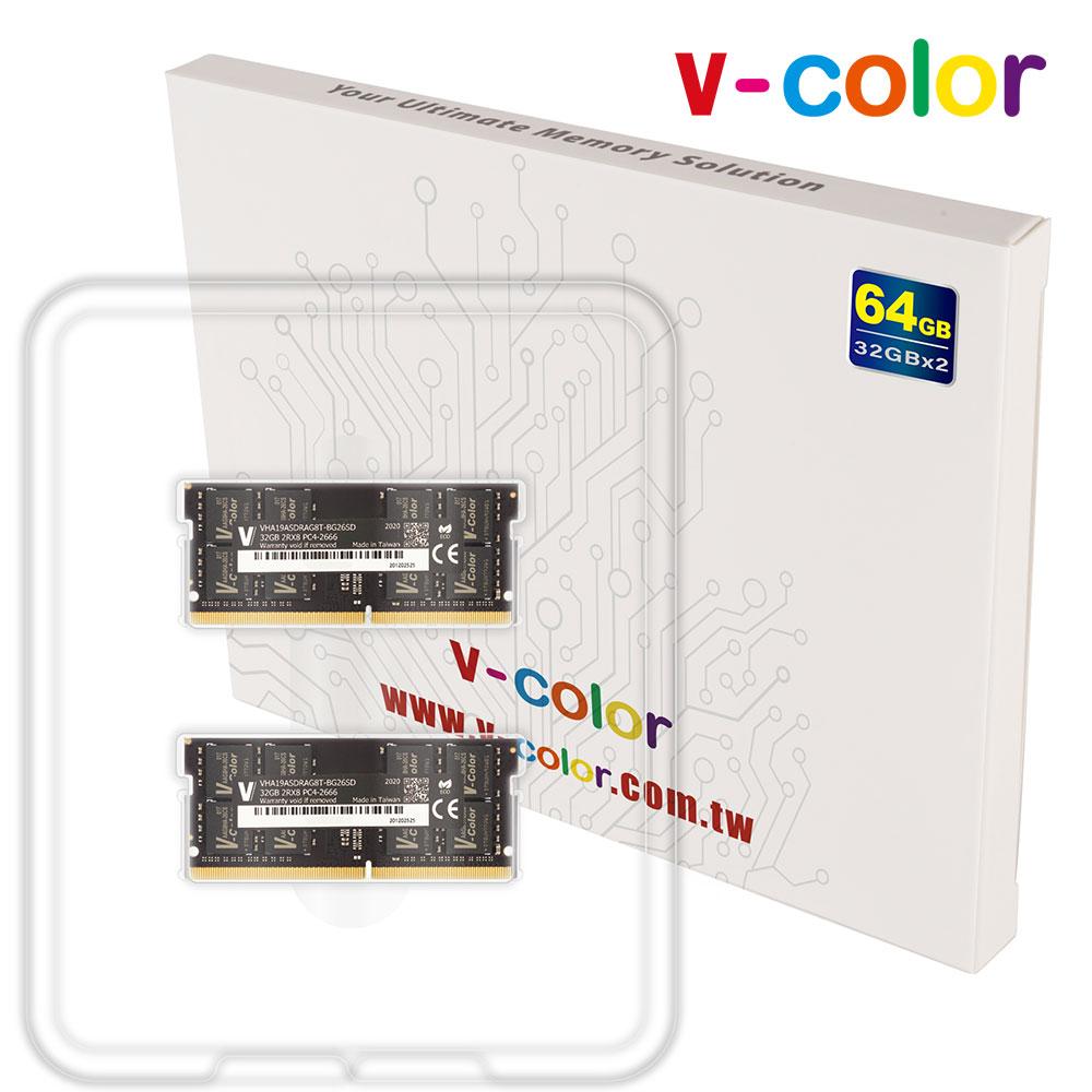 V-COLOR 아이맥 2020 램 메모리 64GB Kit(2x32GB) 2666MHz DDR4 21300 iMac 전용메모리, 64GB Kit (2x32G)DDR4 2666MHz