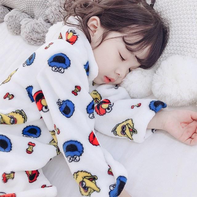 [당일발송] 아동 극세사 수면 잠옷 여아 남아 아동 파자마 세트