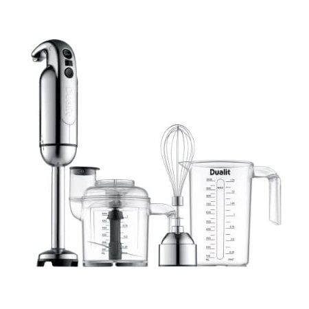 Dualit Immersion Blender with Accessory Kit Chrome, Chrome_One Size, 상세 설명 참조0, 상세 설명 참조0
